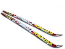 Skol Planet Step (ar pretslīdes rievām) bērnu distanču slēpes
