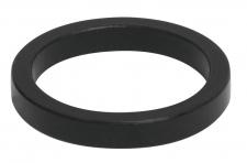 Force 5 mm stūres distanceris alumīnija melns
