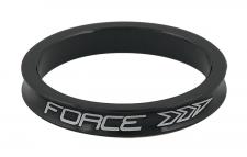 Force 5 mm stūres distanceris alumīnija melns 3g