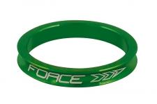 Force 5 mm stūres distanceris alumīnija zaļš 3g