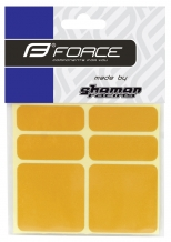 Force rāmja aizsarg uzlīme dzeltena