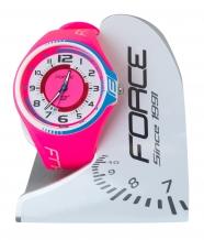 Force 2 analogais pulkstenis rozā