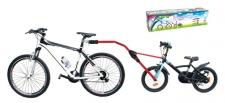 Trailangel velosipēda sakabe Sarkana