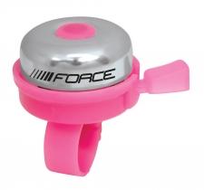 Force Classic velosipēda zvans rozā