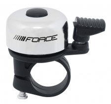 Force Mini velosipēda zvans balts