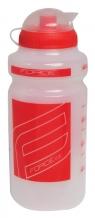 Force 500 ml pudele caurspīdīga/sarkana