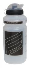 Force 500 ml pudele caurspīdīga/melna (W)