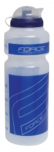 Force 750 ml pudele caurspīdīga/zila ar vāciņu (W)