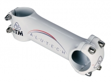 ITM ALUTECH MTB 100 mm stūres iznesums balts