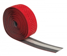 Force stūres lenta sarkana ar caurumiem (X)