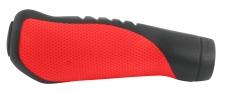 Force ERGO stūres rokturi melni/sarkani (X)