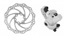 Force mehāniskās disku bremzes baltas (X)