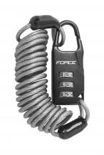 Force 1200 x 3 mm spirālveida saslēdzējs (W)