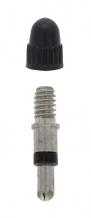 Force ventilis ar uzgali materiāls - niķelis, blīvējums - gumijas blīve, plastmasas korķītis