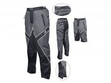 Force Freerider šorti/bikses pelēkas/melnas (X)