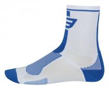 Force Long sporta zeķes baltas/zilas