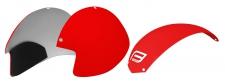 Force Globe ķiveres rezerves daļa sarkana