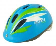 Force Fun Stripes ķivere bērniem zila/zaļa/balta