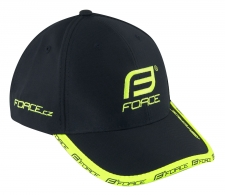 Force cepure melna/elektro zaļa