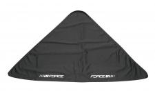 Force trīsstūrveida galvas sega melna (X)