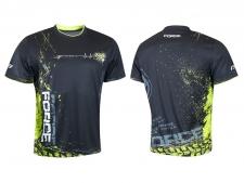Force ART krekls melns/elektro zaļš