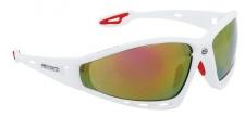 Force Pro sporta brilles baltas/sarkanas (X)