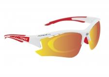Force Ride Pro sporta brilles baltas/sakanas