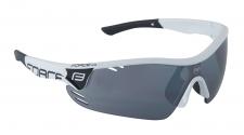 Force Race Pro sporta brilles baltas/melnas