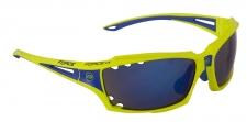 Force Vision sporta brilles elektro zaļas/zilas