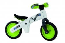 BELLELLI Bērnu līdzsvara velosipēds balts/zaļš