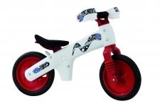 BELLELLI Bērnu līdzsvara velosipēds balts/sarkans