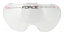Force Globe ķiveres maiņas stikliņš caurspīdīgs