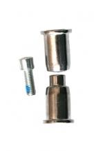 Ningbo M20 x 57 mm bukses rāmja amortizatoram (X)