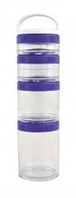 Blender Bottle GoStak Starter violetas burciņas