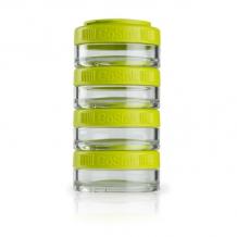 Blender Bottle GoStak 40ml 4Pak zaļas burciņas