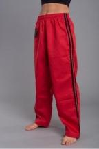 Phoenix karate/tradicionālāskimono bikses sarkanas (W)