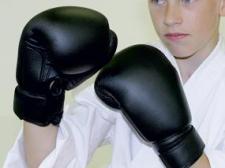 Phoenix Junior boksa cimdi melni 6OZ (W)