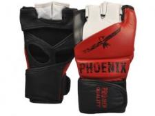 Phoenix Pro Tech MMA cimdi melni/sarkani/balti