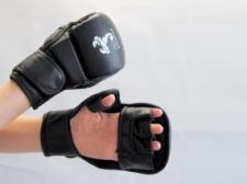 Budo's Finest MMA cimdi melni