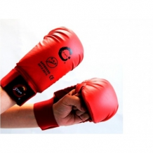 SPORTSMASTER (SMAI) EKF Karate cimdi sarkani