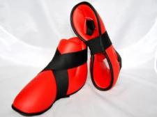 Phoenix pēdas aizsargi (futas) sarkani (W)