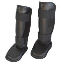 Phoenix kāju aizsargi PU melni (W)