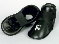 Budo's Finest pēdas aizsargi (futas) melni ādas (W)