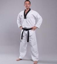 Wacoku Competition WTF Taekwondo tērps ar melnu apkakli (W)