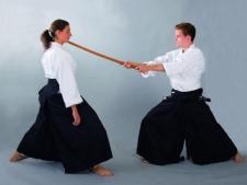 Phoenix Aikido & Kendo hakama melna (W)