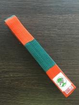 Eris kimono josta zaļa/oranža
