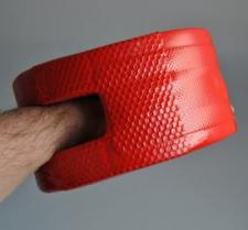 Taktiskā ķepa treniņiem sarkana