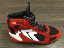 Boksa apavi sarkani (X)