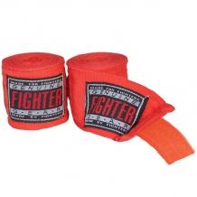 Fighter elastīgās boksa saites sarkanas