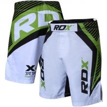 RDX X4 MMA šorti balti/zaļi (X)